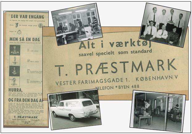 Præstmark A/S - Lidt historie